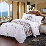100%年の綿の柔らかい綿の寝具の一定4PCSシーツセット