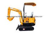 Mini escavatore del cingolo della pista della Cina Wy08h utilizzato su Gaden