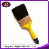 escova de pintura afilada do filamento de 70mm punho de madeira