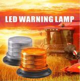 こはく色の回転合図の光LEDの警報灯R65 LEDの合図の光の点滅する黄色標識