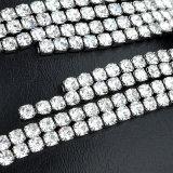 Элегантный стиль Tassel ювелирных изделий устраивающих свадьбу белого золота Earring Crystal