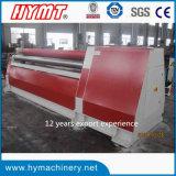 Machine de roulement de dépliement de plaque hydraulique d'acier inoxydable des rouleaux W12S-25X3200 quatre