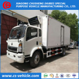 Cella frigorifera refrigerata camion Van Truck della casella di refrigerazione di Dongfeng 4X2 5ton