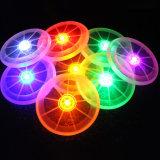 ナイトゲームの電気スタンドのフリズビーのための白熱LED飛行ディスク