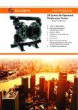 Pressluftbetätigte doppelte Qby3-80/100 Membranpumpe für Abwasser-Wasser