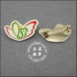 Forme de coeur de l'insigne de bénévoles, de l'épinglette personnalisée (GZHY-LP-045)