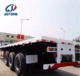 China Aotong 2/3 Welle 40FT Flachbett-/flaches Bett-Behälter-halb Schlussteile
