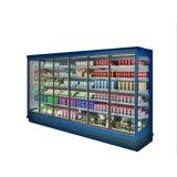 R404A kühlglastür-Gefriermaschine-Handelsbildschirmanzeige-Kühler