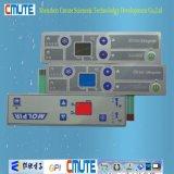 Пульт управления мембраны отделки металлического влияния штейновый излишек с окном LCD цвета
