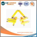 Inserti di giro brasati del carburo di tungsteno di A10 A12 A16
