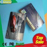 可変的なQRコードMIFARE標準的なEV1 RFID風防ガラスの駐車カード