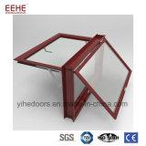 機密保護棒デザインの装飾的なアルミニウム開き窓のガラス窓のグリル