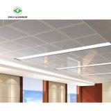 Limpieza fácil panel perforado techo decorativo de aluminio de Hospital