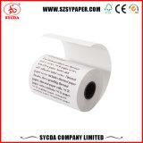 papel termal del rodillo del papel de caja registradora de 80m m para la terminal de la posición