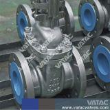 API 600 A216 Gr. Uit gegoten staal Wcb voorzag de Opgeheven Klep van de Poort van het Gezicht van een flens
