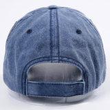 Kundenspezifisches Form-Vati-Hut-Pigment färbte gewaschene Baseballmütze