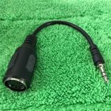 Fiche mâle DIN 5 broches MIDI à fiche stéréo jack 3,5 mm Câble Audio