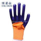 Schützendes Arbeits-Nitril-wasserdichte Handschuhe mit guter Qualität