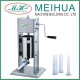 Meihuaのステンレス鋼の手動ソーセージの詰め物3L