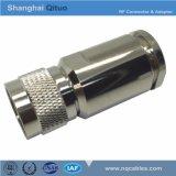 Gerader männlicher Stecker des HF-Verbinder-N für Kabel LMR600 (N-J12D)