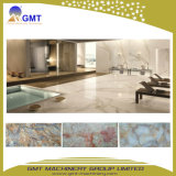 Dekoratives Kurbelgehäuse-Belüftungkünstliches Faux-Marmor-Blatt Wand-Panel Plastikstrangpresßling-Zeile