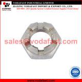 La norme DIN 937 mince en acier galvanisé l'écrou crénelé