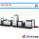 Cuchillo caliente Vertical completamente automática máquina laminadora película[GFM-126LCR]