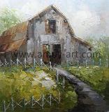 Ферма ручной работы коллекция произведений искусства малых сарай в леса для украшения