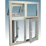 Ventana de aluminio de la rotura termal doble del vidrio Tempered de Woodwin