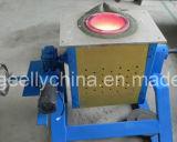 Horno fusorio de la inducción de frecuencia media para el aluminio de cobre de acero cobreado de la plata del oro del hierro