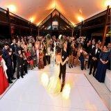 Förderung China bewegliches hölzernes 1*1m Schwarzweiss-Dance Floor