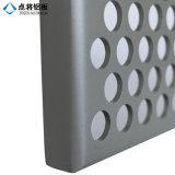 El panel de aluminio perforado modificado para requisitos particulares para la decoración del revestimiento de la pared