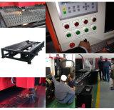 Automobillaser-Ausschnitt-Maschine der faser-500W für Metallblatt und -platten