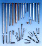 構築の共通の釘の鉄の釘の工場