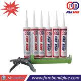 Verre et aluminium structurelles d'utilisation du joint silicone adhérent