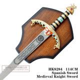 Espadas medievais da decoração das espadas das espadas da película 114cm HK8284