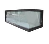 Finestra fissa del doppio angolo di vetro di alluminio di rendimento elevato