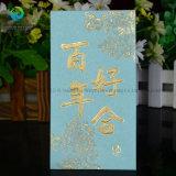La impresión de lujo de bodas Paquete de Rojo / Pocket / Sobre