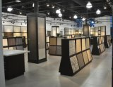 Supermercato unito pavimentando le visualizzazioni della sala d'esposizione delle mattonelle della ceramica del metallo