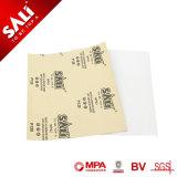 Wp43 recubierto de larga duración tratados especiales de papel de lija de óxido de aluminio