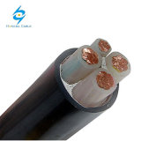 4x35mm2 Cu conducteurs isolés en polyéthylène réticulé à gaine PVC du câble d'alimentation