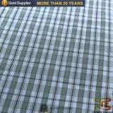 China nuevo tejido de poliéster tejido hilado teñido chaqueta