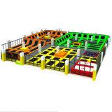 Парк Trampoline новой конструкции цены по прейскуранту завода-изготовителя крытый, коммерчески Trampoline напольный
