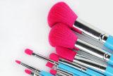 9pcs mujeres profesionales Sexy maquillaje cosmético Blusher Pincel sombra de ojos azul Juego de conjunto de cepillos