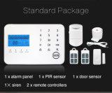 GSM PSTN Ios 인조 인간을%s 가진 주택 안전을%s 지적인 경보망