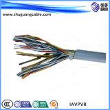 PVC nh-Kvvp изолировал обшитый экранированный кабель системы управления