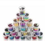 Autoadesivo di arte del chiodo della stagnola di arte del chiodo per l'imballaggio della bottiglia della decorazione 2.5*12000cm del chiodo