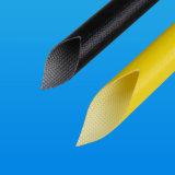 2.5kv het silicone bedekte de Elektrische Buizen en de Kokers van de Isolatie van het Jasje van de Draad Glasvezel Gevlechte met een laag