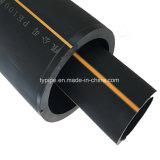 Ficha PE 160 mm do tubo de alimentação de gás
