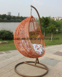 Canne Hanging Basket à l'intérieur et extérieur Balcon pendaison Balançoire coussin Nid d'oiseau adulte seul socle de culbuteur (M-X3537)